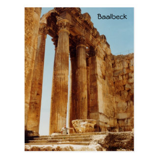 Templo del Bacchus Tarjetas Postales