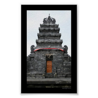 Templo del Balinese Póster