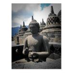 templo del borobudur tarjetas postales