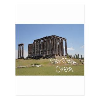 templo del cyrene copy.jpg del zeus postal