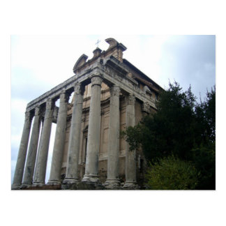 templo del foro tarjeta postal