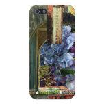 Templo del Hydrangea iPhone 5 Funda