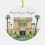 Templo del Mesa Arizona Adorno De Navidad