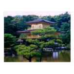 Templo del pabellón de oro, Kyoto, Japón Postales