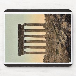 Templo del Sun, vista delantera, Baalbek, Tierra S Alfombrilla De Ratones