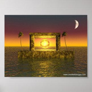 Templo del tiempo poster