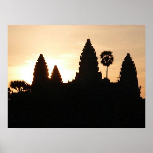 templo del wat del ankgor impresiones