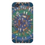 Templo del zodiaco de Dendera de Hathor iPhone 4/4S Funda