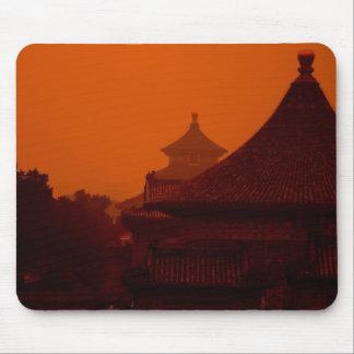 Templo en cojín de ratón de China Tapete De Ratón