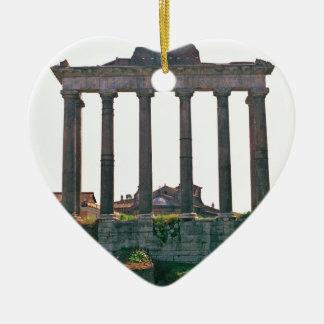 Templo en el foro romano ornamentos de reyes magos