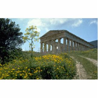 Templo griego, Segesta, Sicilia, Italia Fotoescultura Vertical