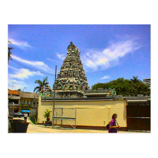 Templo hindú, camino de Serangoon Tarjeta Postal