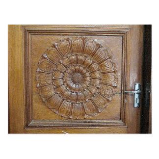 Templo hindú de Chettiar, puerta adornada Tarjetas Postales