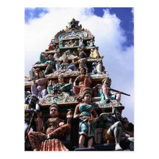 Templo hindú postales