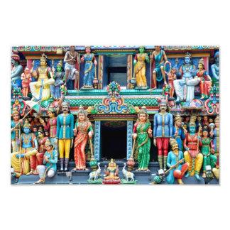 Templo hindú Singapur Fotografías
