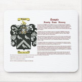 Templo (historia) mousepads