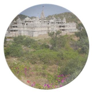 Templo Jain de Ranakpur, Ranakpur, Rajasthán, la I Platos Para Fiestas