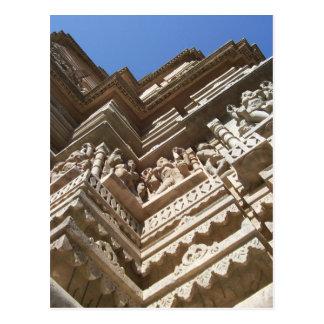 Templo Jain, la India Tarjeta Postal