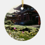 Templo japonés, Byodo-en - las flores de Oahu Ornato