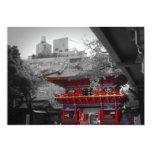 Templo japonés viejo comunicados personales
