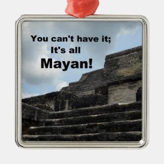 Templo maya antiguo de dios del sol ornamentos de reyes