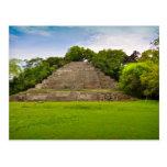 Templo maya Belice America Central de Jaguar Postal