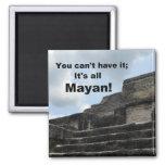 Templo maya de dios del sol; Belice Imán Para Frigorifico