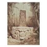 Templo maya, Honduras Impresiones