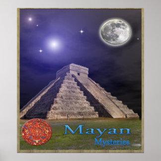 Templo maya posters