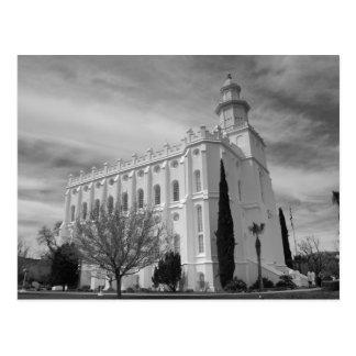 Templo mormón de San Jorge Utah Postales