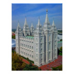 Templo mormón impresiones