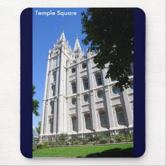 Templo mormón (LDS) en Salt Lake City, Utah Mouse Pads