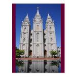Templo mormón (LDS) en Salt Lake City, Utah Postales