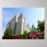 Templo mormón poster