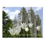 Templo mormón, Salt Lake City, Utah Postal