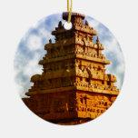 Templo Ornamento Para Arbol De Navidad