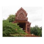 Templo Poscard de Camboya Postales