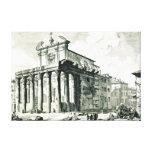 Templo romano 1748 impresión en lona