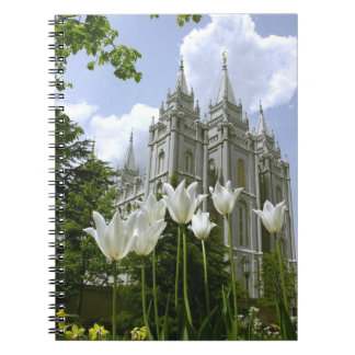 Templo Salt Lake City, Utah de LDS Libro De Apuntes