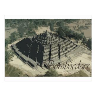 Templo Screnary de Borobudur Tarjetas Postales