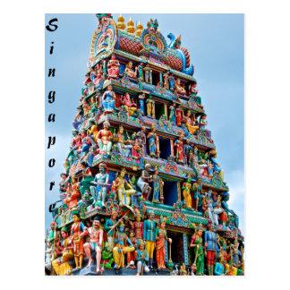 Templo Singapur de Sri Mariamman Postales