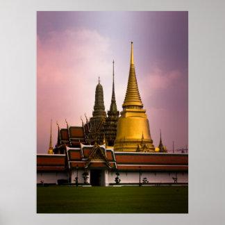 Templo Tailandia Poster