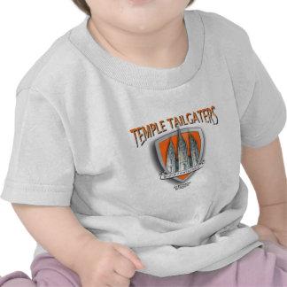 Templo Tailgater LOGOwear Camiseta