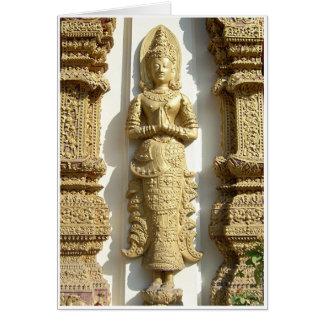Templo Wai Felicitación