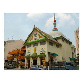 Templo y convento chinos postales