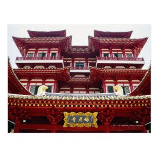 Templo y museo de la reliquia del diente de Buda Tarjetas Postales