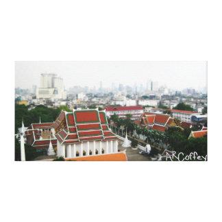 Templos budistas impresiones de lienzo