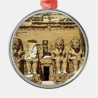 Templos de Abu Simbel del egipcio Ornamento De Reyes Magos