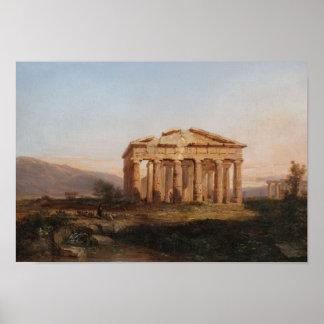 Templos de Paestum Poster