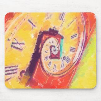 Tempo contínuo mousepad